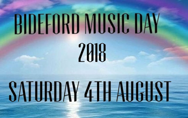 Bideford Music Day 2018