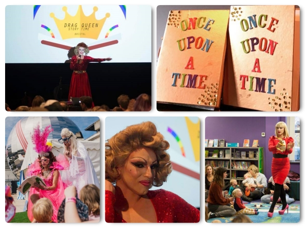 Drag Queen Story Time comes to three Devon Libraries