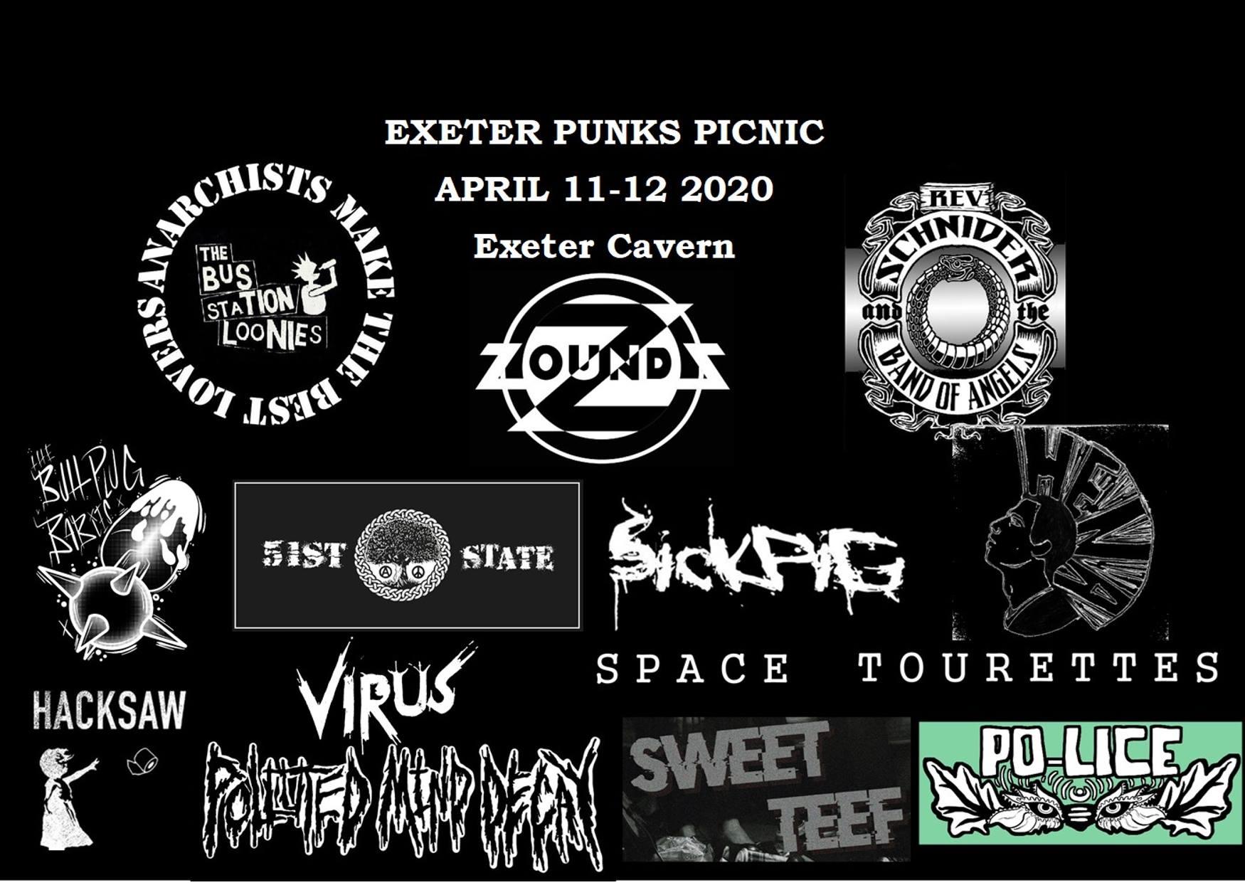 Exeter Punks Picnic 2020